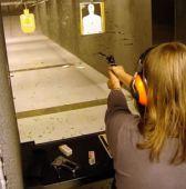 girl gun range