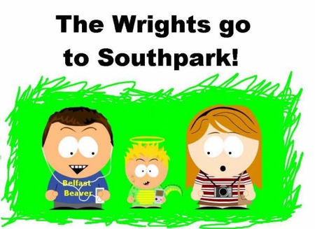 Wrights in Southpark!