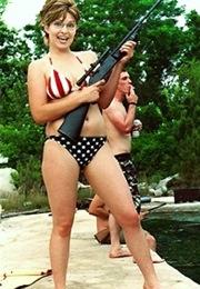 Palin - fake bikini shot