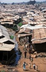Slum in Nairobi